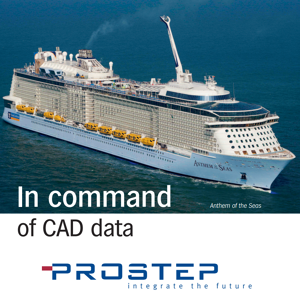 In Command of CAD Data - PROSTEP Meyer Werft