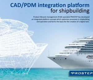 PROSTEP CAD PDM Integration for Shipbuilding