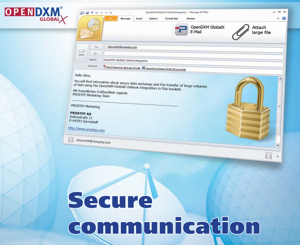 Secure Communication with OpenDXM GlobalX