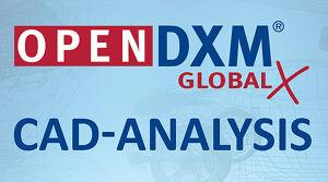 OpenDXM GlobalX CAD-Analysis